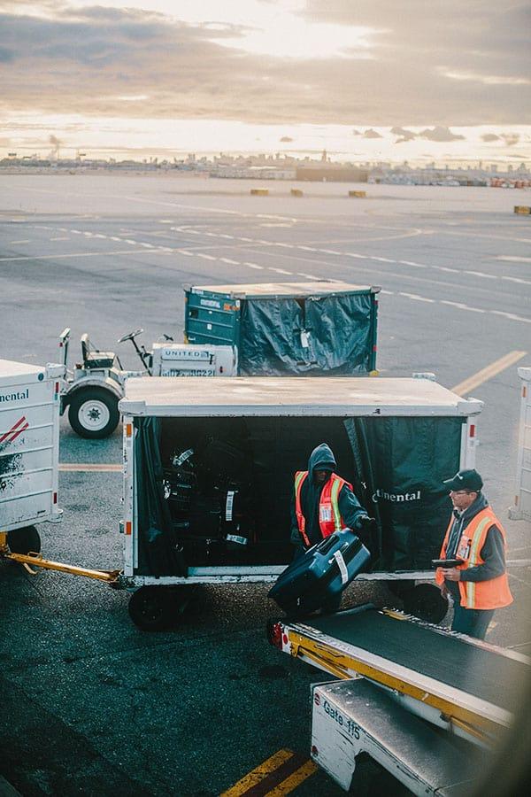 baggage handling team