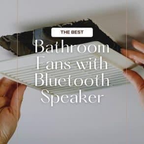 bathroom speaker fan