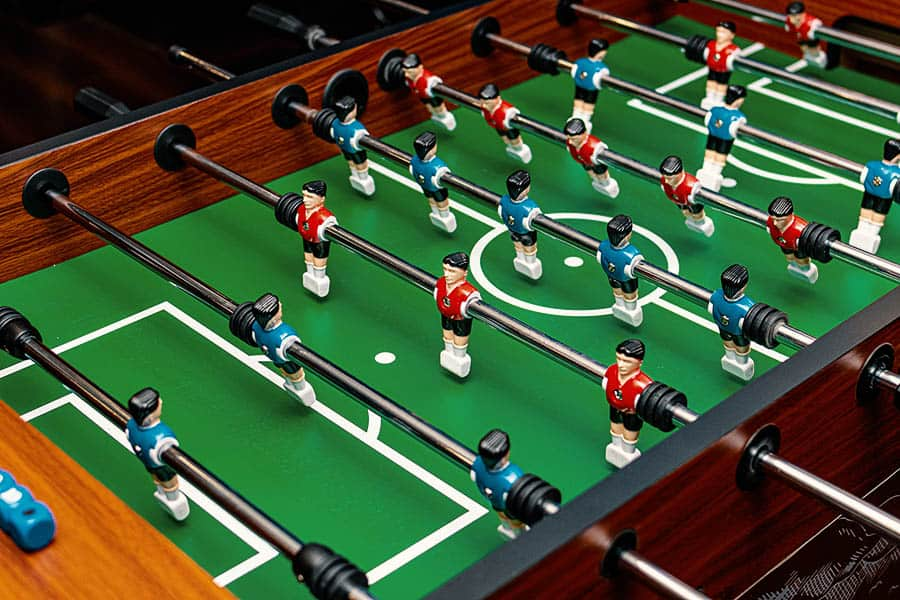 cool foosball table