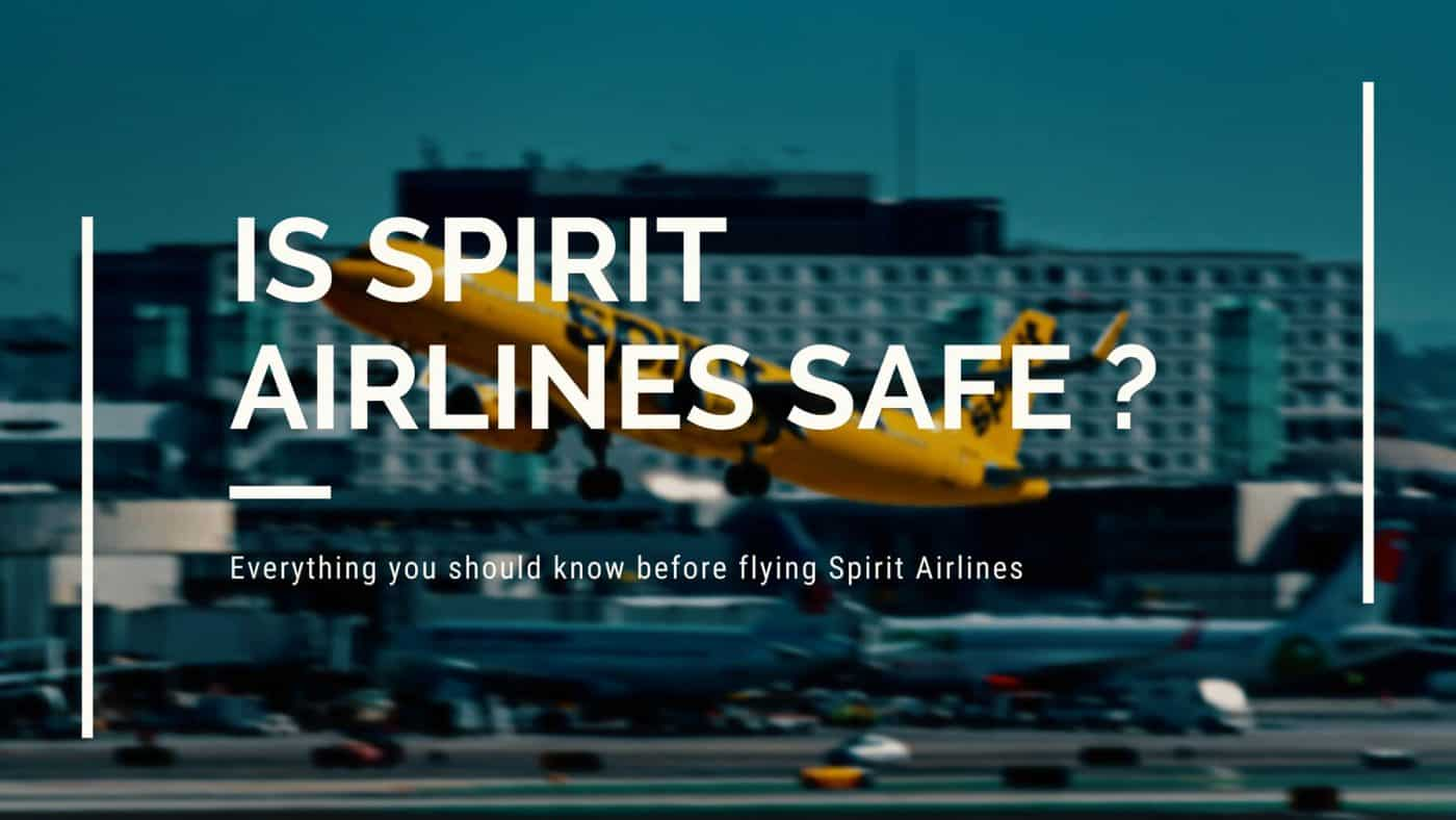 is spirit airlines safe