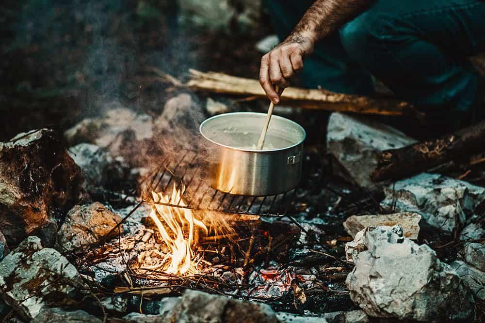 open fire cooking equipment