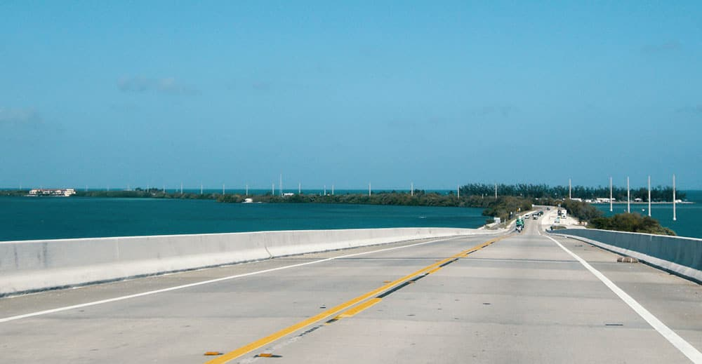 overseas highway road trip alone