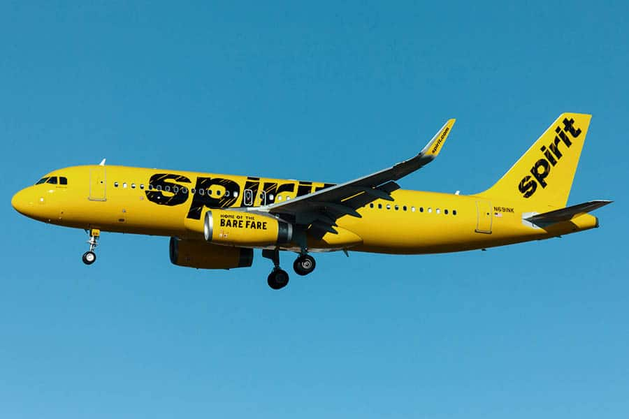 spirit airlines safety record